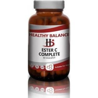 Healthy Balance Ester C Complete 60 φυτικές κάψουλες