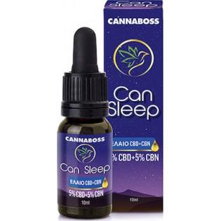 Cannaboss Can Sleep Oil 5% CBD + 5% CBN 10ml