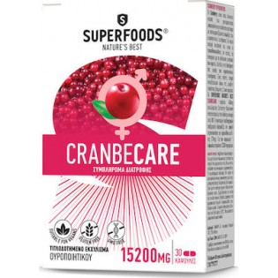 Superfoods CranbeCare 30 κάψουλες
