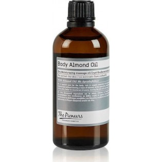 The Pionears Body Almond Oil Dry Moisturizing Massage Oil for Normal Dry Skin 100ml