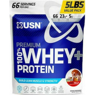 USN 100% Whey Premium Protein Pouch 2000gr Wheytella