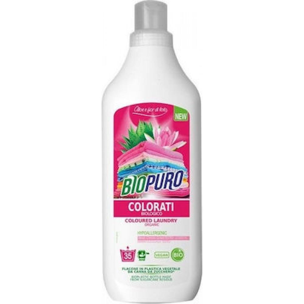 Biopuro Υγρό Πλυντηρίου Ρούχων για Χρωματιστά 1L