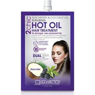 Giovanni 2 chic Blackberry & Coconut Milk Hot Oil Hair Treatment 49gr