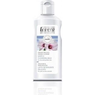 Lavera Απαλή Λοσιόν Καθαρισμού Προσώπου με Βιο μολόχα & αμύγδαλο για κανονικό & ξηρό δέρμα 125ml