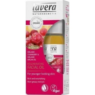 Lavera Λάδι Αναδόμησης Προσώπου με βιολογικό cranberry & βιολογικό αργανέλαιο 30ml