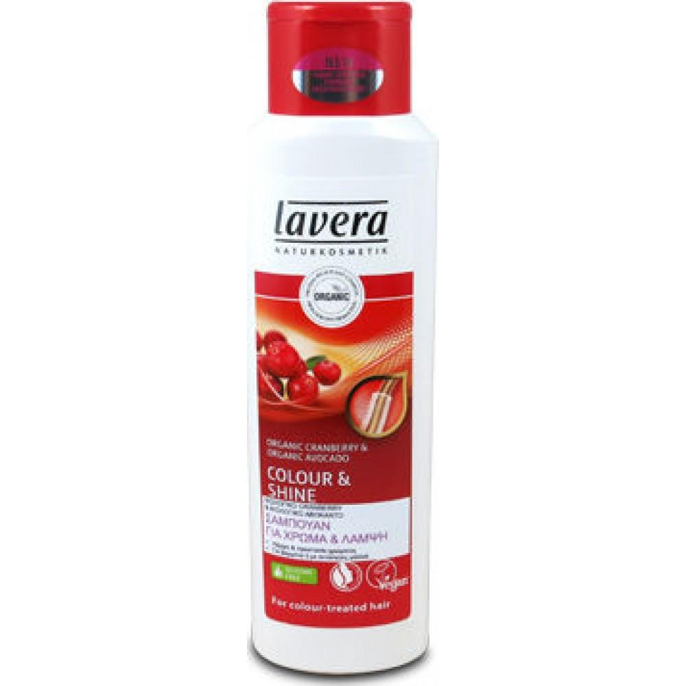 Lavera Colour and Shine Shampoo Σαμπουάν για Χρώμα και Λάμψη 250ml