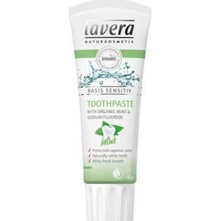 Lavera Οδοντόκρεμα Μέντα με βιολογική μέντα & φθοριούχο νάτριο 75ml