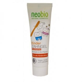 Neobio Οδοντόκρεμα Παιδική Χωρίς Φθόριο 50ml ΒΙΟ