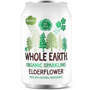 Whole Earth Ανθρακούχο ποτό Σαμπούκο με Σιρόπι Αγαύης 330ml