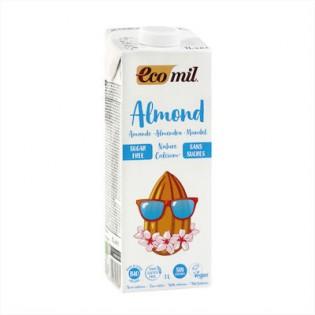 Ecomil Ρόφημα Αμυγδάλου με Ασβέστιο χωρίς Ζάχαρη 1000ml