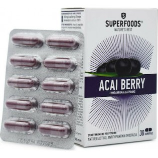 Superfoods Acai Βerry 30 κάψουλες