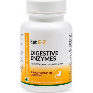 Dynamic Enzymes Eat E-Z 30 φυτικές κάψουλες