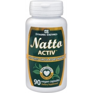 Dynamic Enzymes Natto ACTIV 45 φυτικές κάψουλες