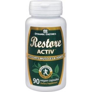 Dynamic Enzymes Restore ACTIV 40 φυτικές κάψουλες