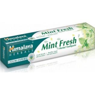 Himalaya Wellness Mint Fresh Herbal Φυτική για Δροσερή Αναπνοή και Ευαίσθητα Ούλα 75ml