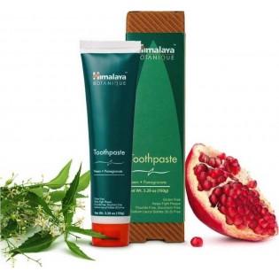 Himalaya Wellness Eco Neem & Pomegranate για Καθαρισμό & Λαμπερό Χαμόγελο 150gr