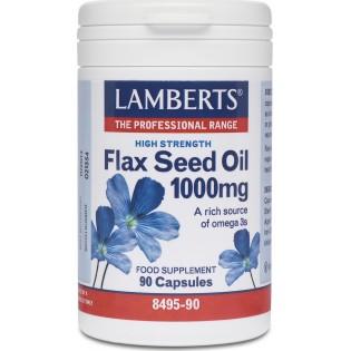 Lamberts Flax Seed Oil 1000mg 90 κάψουλες