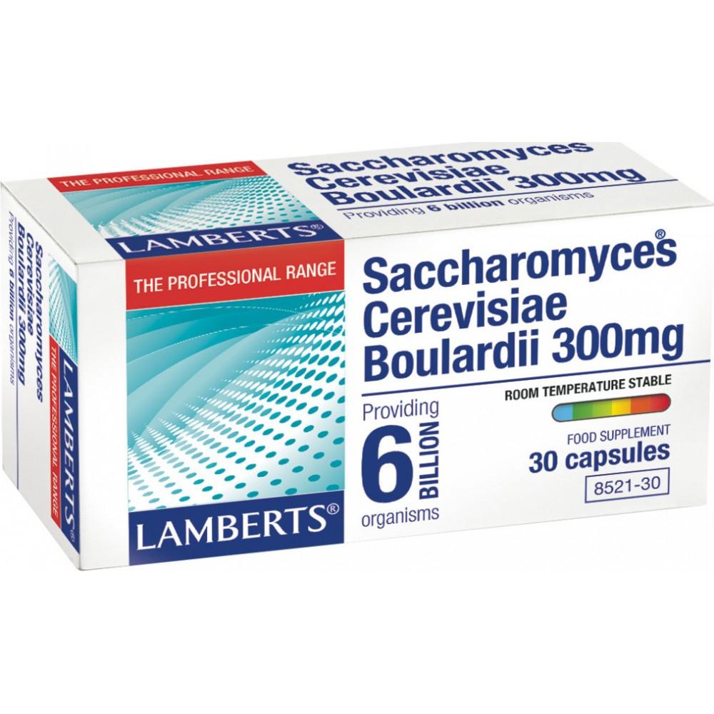 Lamberts Saccrharomyces Cerevisiae Boulardii 300mg 30κάψουλες