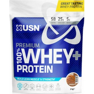 USN 100% Whey Premium Protein Pouch 2000gr Σοκολάτα