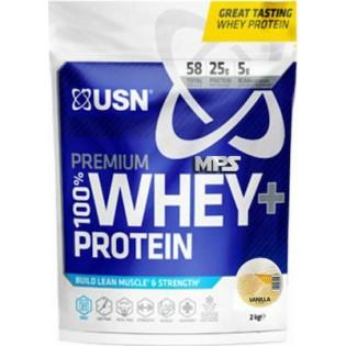 USN 100% Whey Premium Protein Pouch 2000gr Βανίλια