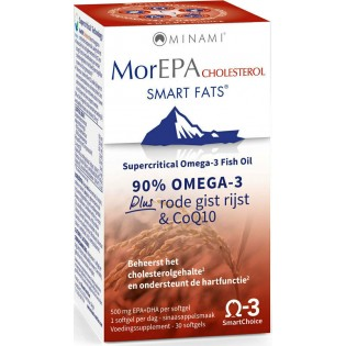 Minami MorEPA Cholesterol 30 μαλακές κάψουλες
