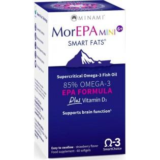 Minami MorEPA Mini 6+ Smart Fats 60 μαλακές κάψουλες