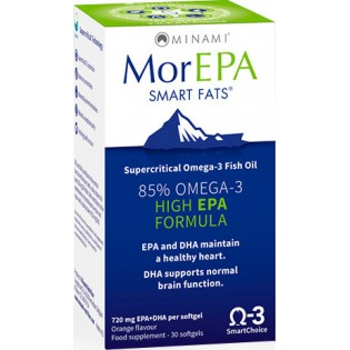 Minami MorEPA Smart Fats 30 μαλακές κάψουλες