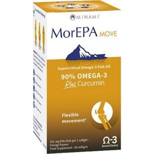 Minami MorEPA Move Omega 3 Plus Curcumin 60 μαλακές κάψουλες