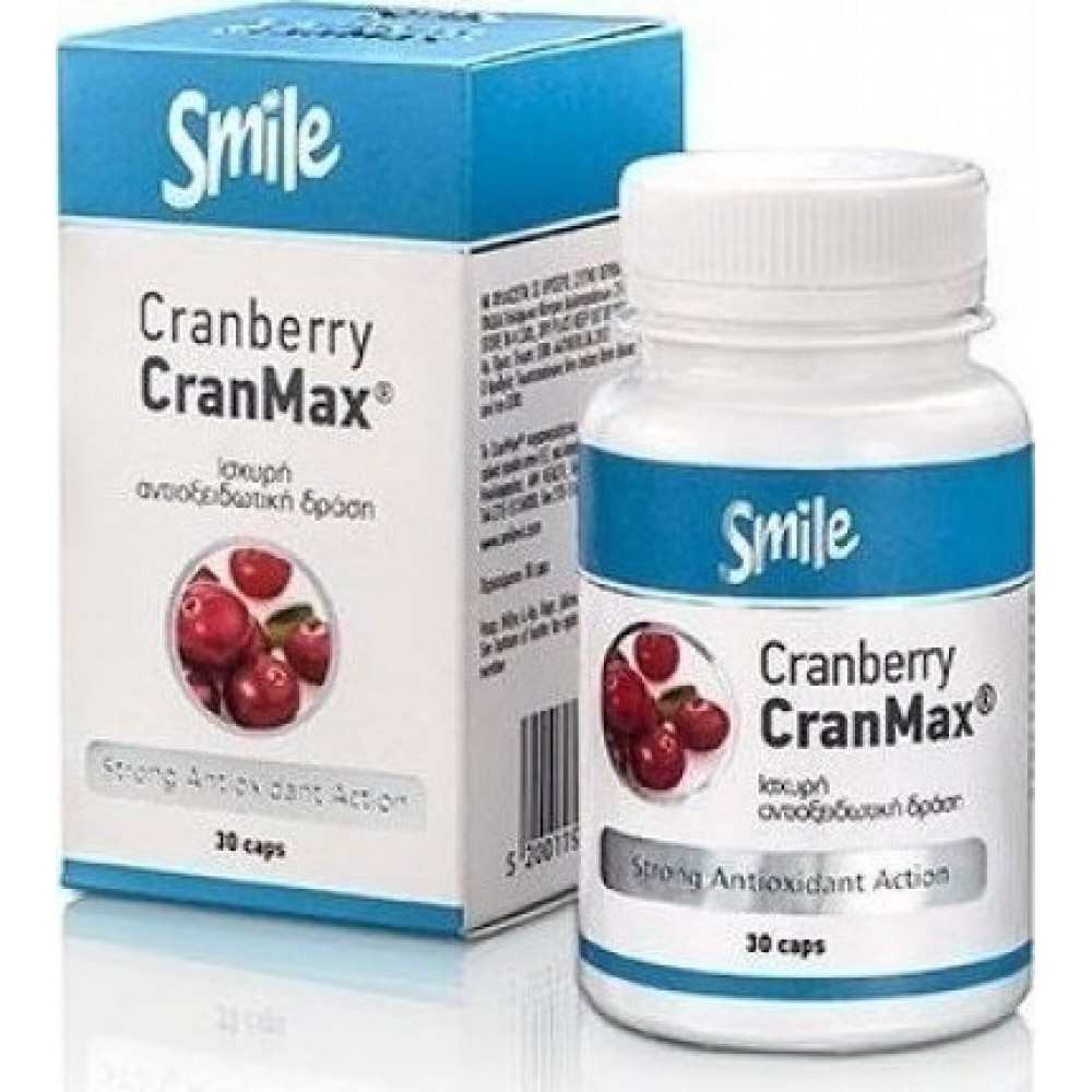 Smile Cranberry CranMax 30 tabs