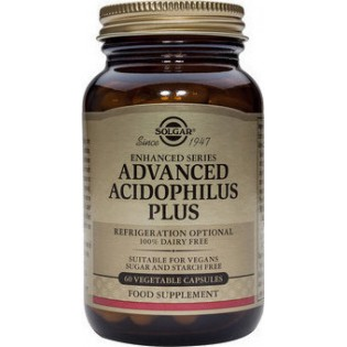 Solgar Advanced Acidophilus Plus 60 φυτικές κάψουλες