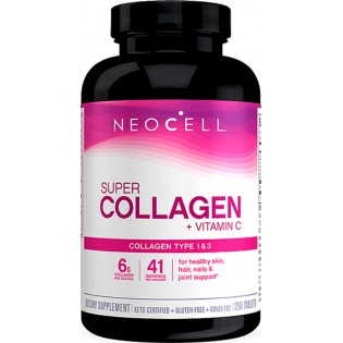 NeoCell Super Collagen +C 1 & 3 6000mg 250 ταμπλέτες