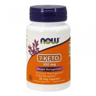 Now Foods 7-Keto 100mg 30 κάψουλες