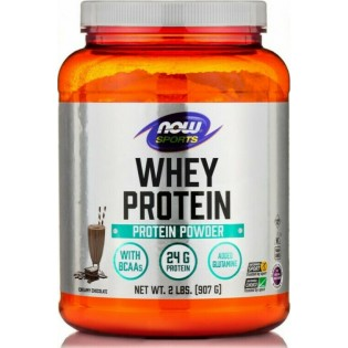 Now Foods Sports Whey Protein Chocolate 908gr
