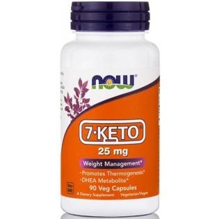 Now Foods 7-Keto 25mg 90 φυτικές κάψουλες