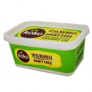 Koko Dairy Free Βούτυρο Καρύδας Χωρίς Γλουτένη 500gr