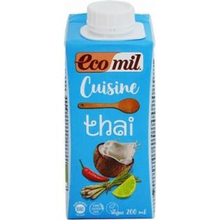 Ecomil Κρέμα Μαγειρικής Thai 200ml