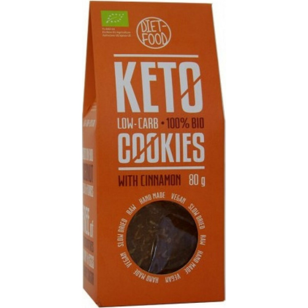 Diet-Food Μπισκότα Κανέλας 80gr