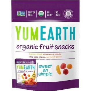 YumEarth Βιολογικά Σνακ Φρούτων 50gr