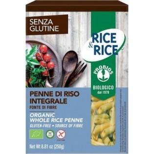 Probios Βιολογικά Πέννες Ρυζιού Ολικής Άλεσης Χωρίς Γλουτένη 250gr