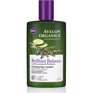 Avalon Organics Brilliant Balance Lavender & Prebiotics Hydrating Toner 237ml