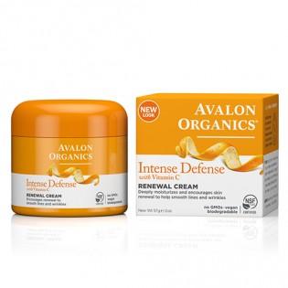 Avalon Organics Intense Defense Vitamin C Renewal Cream 57gr