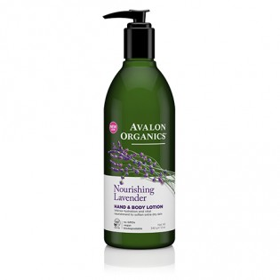 Avalon Organics Lavender Hand & Body Lotion 340gr