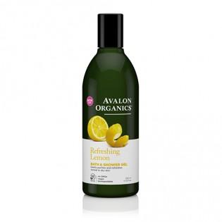 Avalon Organics Bath & Shower Gel Lemon 355ml