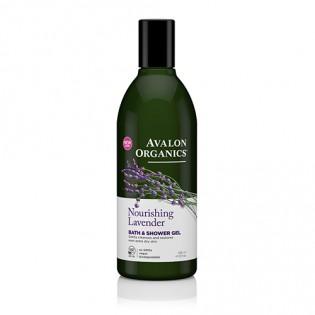 Avalon Organics Bath & Shower Gel Lavender 355ml