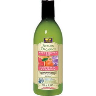 Avalon Organics Bath & Shower Gel Grapefruit & Geranium 355ml