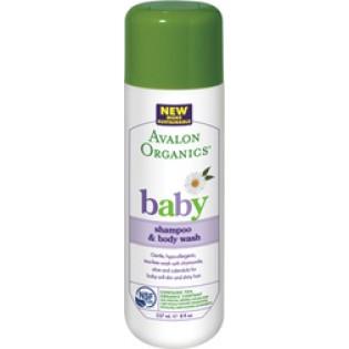 Avalon Organics Baby Shampoo & Body Wash 237ml