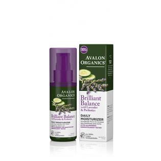 Avalon Organics Brilliant Balance Lavender & Prebiotics 50ml