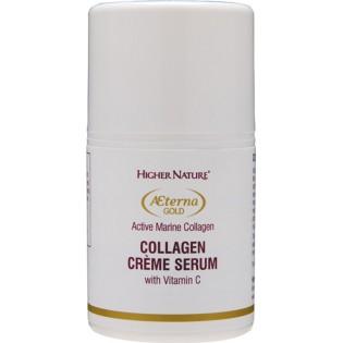 Higher Nature Aeterna Gold Collagen Creme Serum 50ml