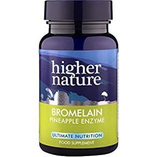 Higher Nature Bromelain 90 κάψουλες