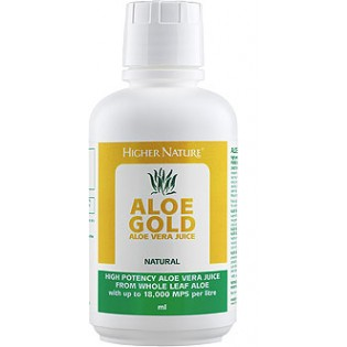 Higher Nature Aloe Gold 485ml Natural